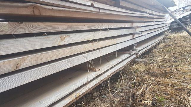 Deski kantówka listwy łaty kontrłaty belki w całości drewno 6m3