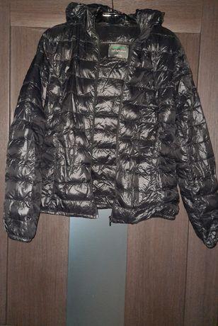 Куртка Benetton, тонкий пух
