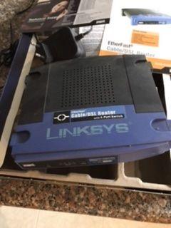 Router linksys com 4 porta