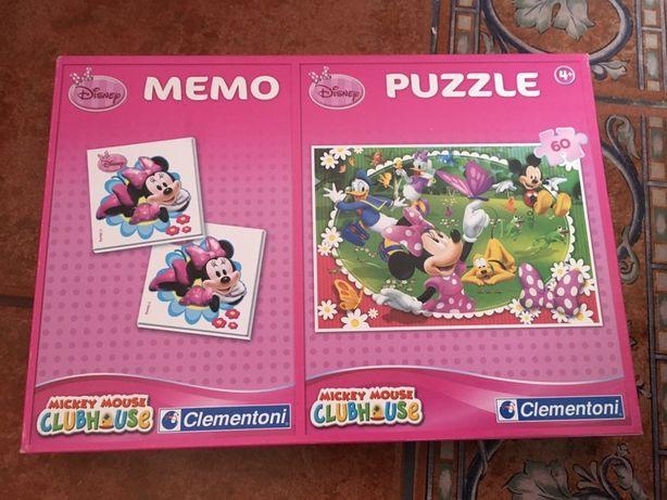 Puzzle i gra Memo