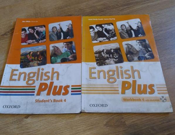 Підручник з англійської «English Plus 4» OXFORD + зошит+диск