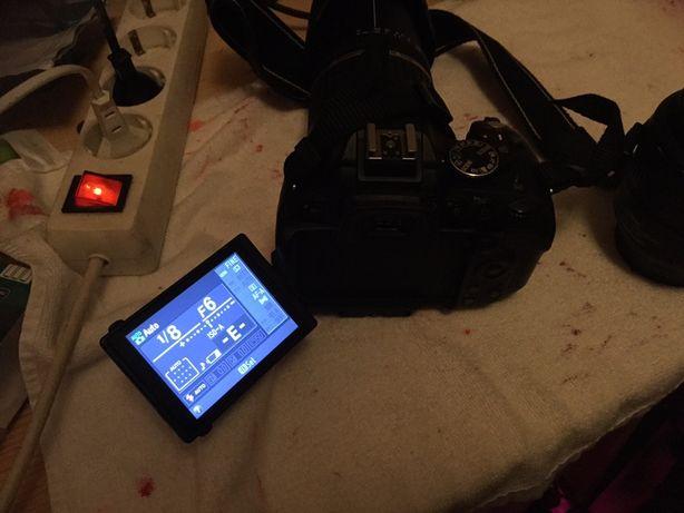 Nikon d5100 mais lente 18-200