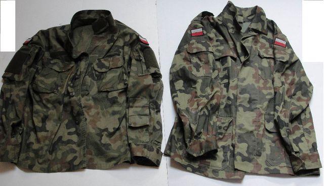 Polskie wojskowe bluzy moro