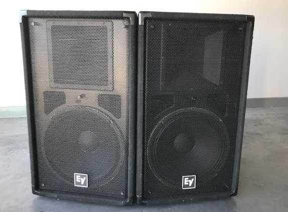 Coluna ELECTRO VOICE T251 Usadas em bom estado