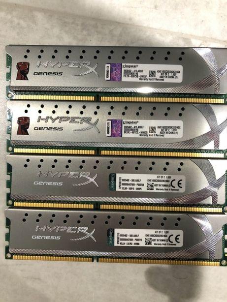 Kingston HyperX Genesis 8GB (4x2GB) DDR3-1600 CL9 KHX1600C9D3X2K2/4GX
