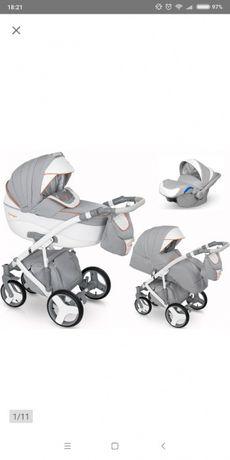 Wózek 3 w 1 dziecięcy