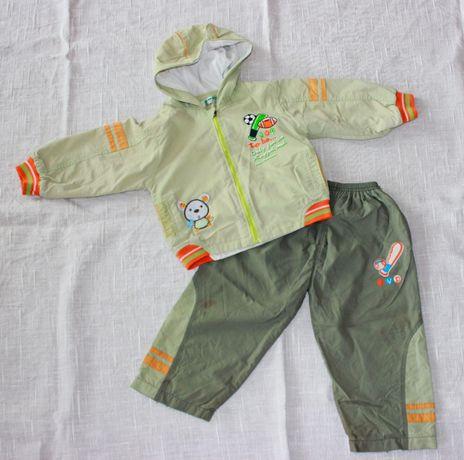 Костюм Куртка ветровка бомбер брюки штаны мальчик 1- 2 года 82 98