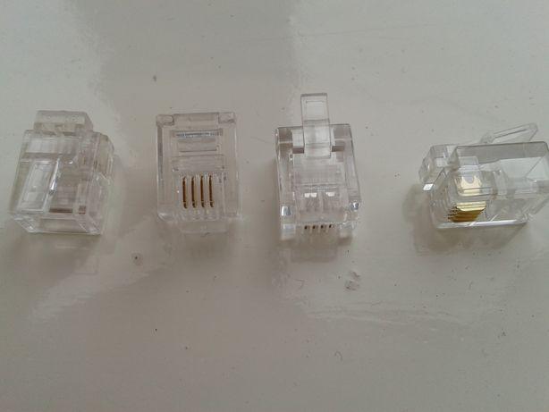 Коннекторы RJ11 6P4C телефонные