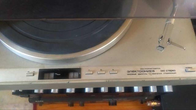 Проигрыватель Электроника ЭП 060  не амфитон,не  радиотехника, не Sony