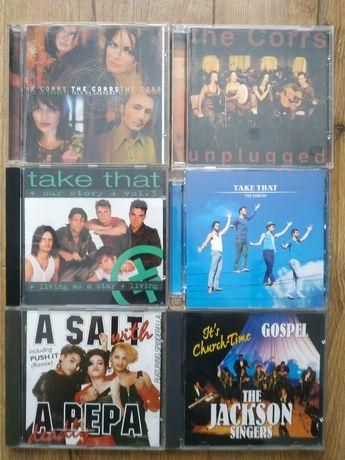 Płyty z muzyką CD Take That, The Corrs,Salt N Pepa, The Jackson singer