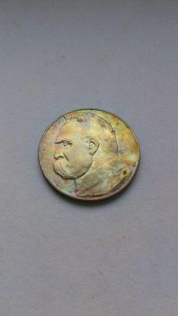 10 zł 1934 orzeł strzelecki moneta Piłsudski srebro przedwojenna II RP