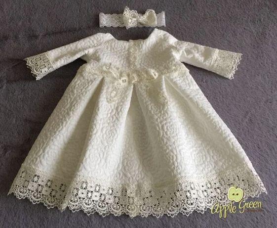Платье нарядное на крещение