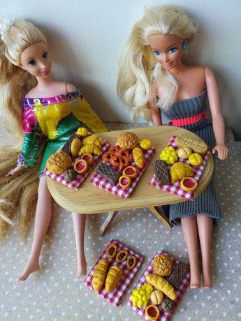 Barbie jedzenie, lalki, gadżety, maileg, Schleich, dollhouse