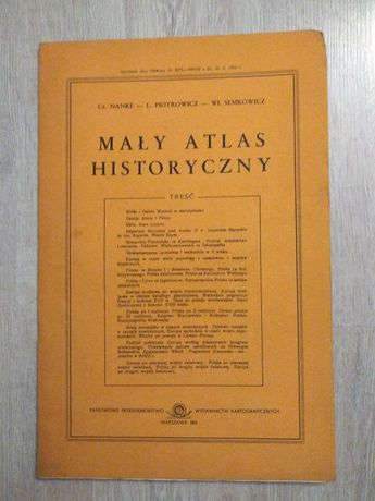 Mały Atlas Historyczny 1981 r.