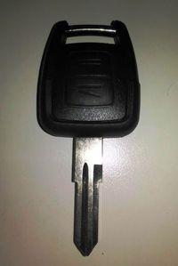 Opel Astra G e Zafira A- Carcaça da chave com lamina