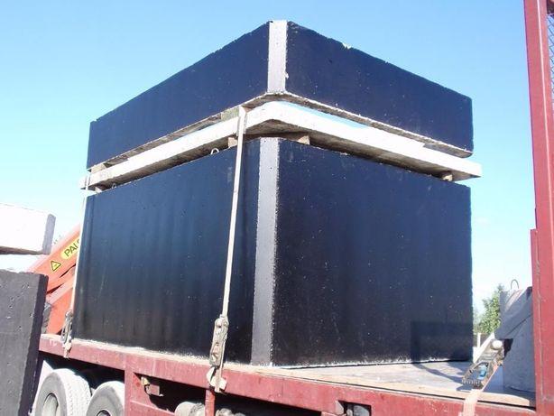 szambo betonowe szamba zbiornik betonowy dwukomorowy 10m3 8m3 12m3
