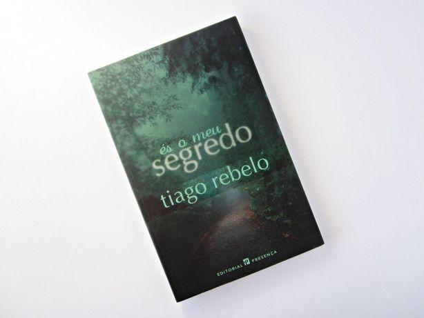"Livro ""És o meu segredo"" - Tiago Rebelo"