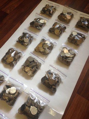Оптом! 1 гривна, 10.000 шт (1995, 1996), 2004год + Юбилейные монеты