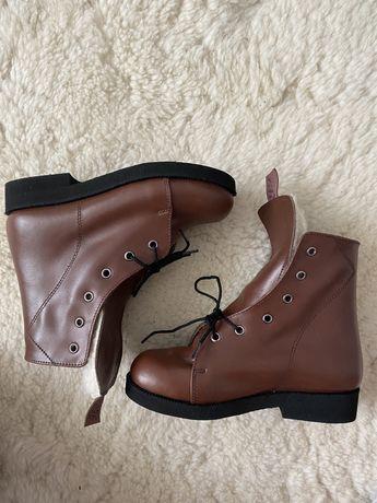 Ортопедичне зимове взуття шкіра