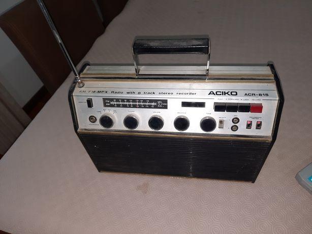 Rádio de  Cartuchos super  antigo