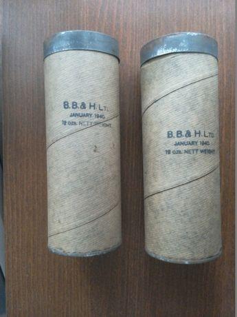 II WOJNA ORYGINALNY BRYTYJSKI feet powder x2 - 1940 rok, nie otwierany