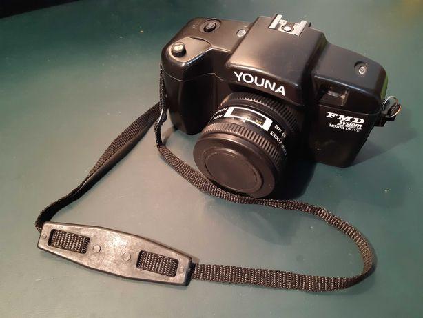 Máquina fotográfica antiga Youna