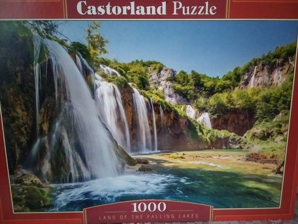Пазлы Castorland(Польша) Водопад на 1000шт.