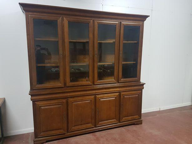 Movel sala Luis Filipe Massiço madeira castanho