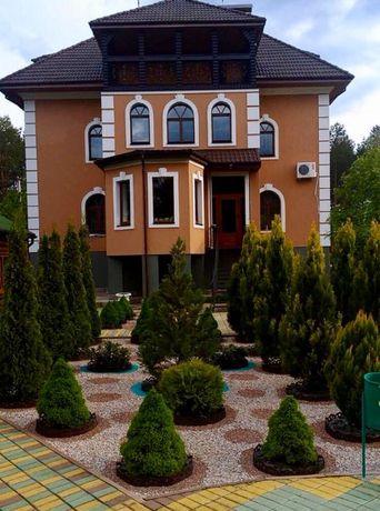 Элитный дом с бассейном ,тренажерный зал,гостевой домик