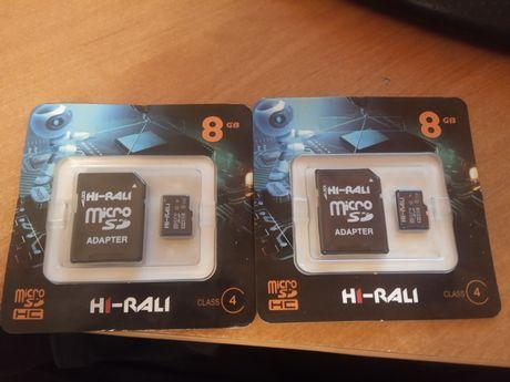 Карта памяти 8 GB, флешка 8 GB. MicroSD