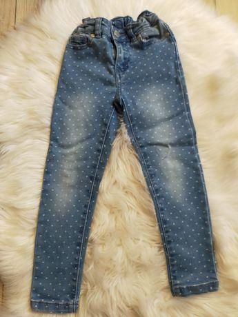 Dżinsowe spodnie rurki
