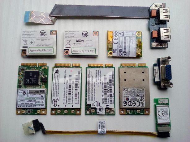 Karta Wi-Fi Sieciowa Bluetooth Gniazdo USB Toshiba A200 A205 A210 A215