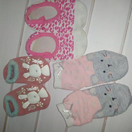 Носочки чешки 11 12 13 см топики тапочки носки нескользящие