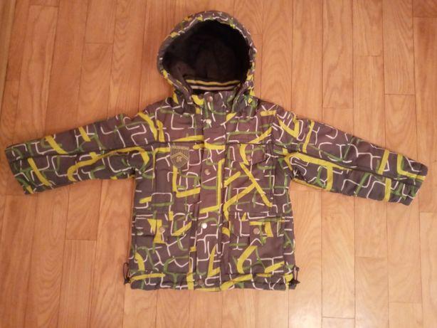 Продам куртку KiKO (осень- теплая зима) р-р 104