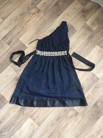 Нарядное темно-синее платье Miso