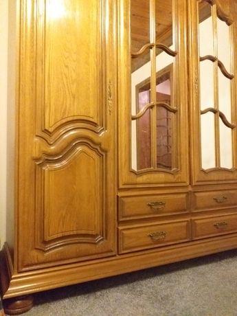 Meble dębowe, holenderskie sypialnia dębowa komplet
