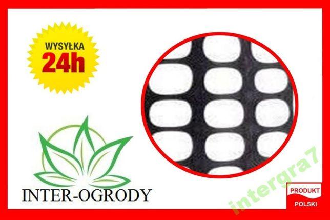 Siatka przeciwśniegowa przeciwśnieżna drogowa PCV 1,2x50 Czarna