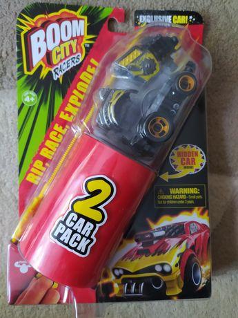 Набор-сюрприз Boom city racers Roast'd,2 машинки