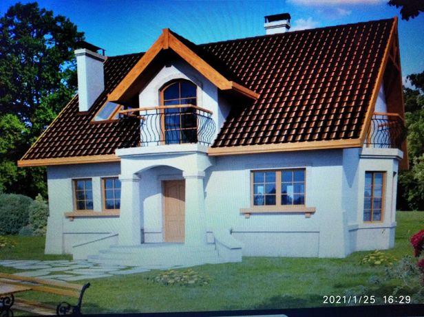 Projekt domu Orion III- 141 m Dobre Domy pracowni Flak& Abramowicz