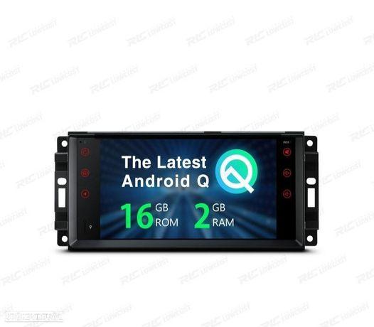 "AUTO RADIO GPS ANDROID 10 JEEP WRANGLER 07-12, GRAND CHEROKEE 08-11... USB GPS TACTIL HD 7"""