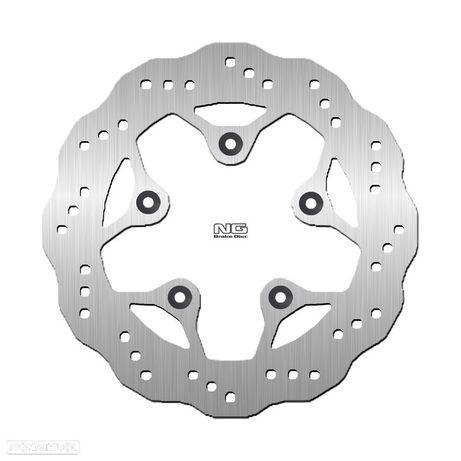 disco travão tras ondulado ng kymco agility / g-dink - ng1238x