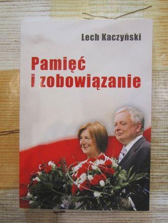 """Książka Lecha Kaczyńskiego - """"Pamięć i zobowiązanie)"""