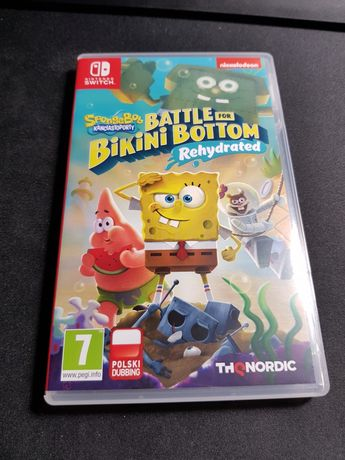 Nintendo Switch Spongebob Battle for bikini bottom rehydrated
