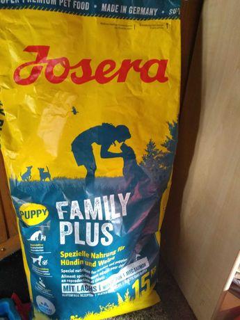 Karma dla szczeniąt i suk karmiących Josera Family Plus Puppy 5 kg