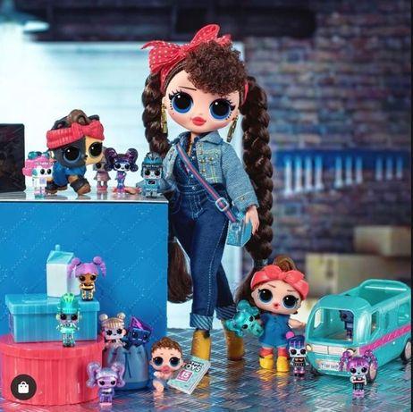 Кукла Лол большая Бизи Биби Омг LOL OMG Busy B. B. техно леди
