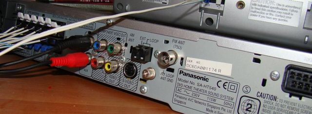 Kino Domowe DVD Panasonic SA-HT540 Zestaw Audio-Video Moc 850W