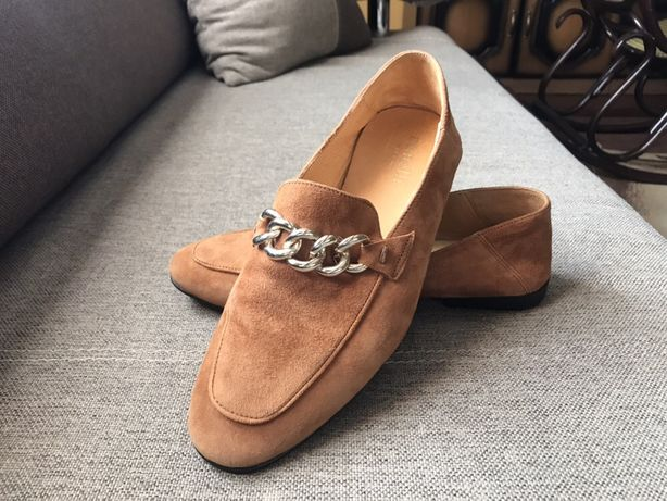 Skórzane buty MINELLI