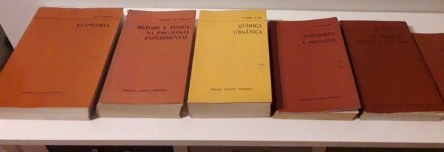 Coleção de livros Fundação Calouste Gulbenkian