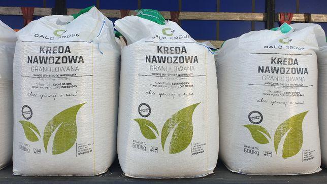 Nawóz wapniowy CaO3-93-98% Kreda Nawozowa -granulowana