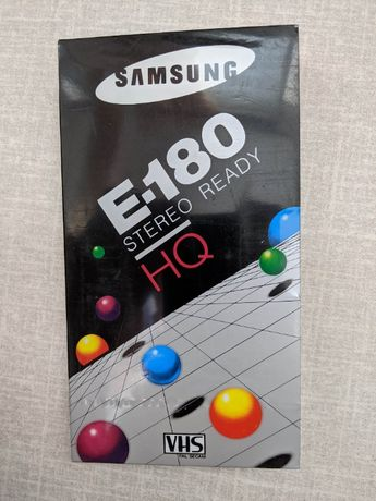 Видеокасета Samsung E-180 HQ